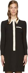 Marc Jacobs Black Button Up Dress