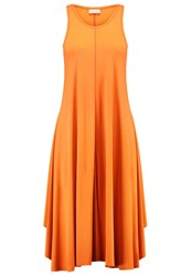 By Malene Birger Antonil Jersey Dress Cayenne Orange