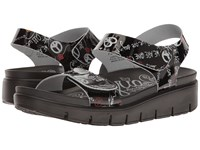 Alegria Playa Peace And Love Black Women's Shoes