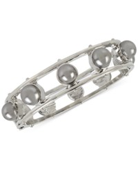 Inc International Concepts M. Haskell For Hinged Bangle Bracelet Only At Macy's Silver