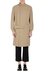 J.W.Anderson Jw Anderson Men's Belted Drop Waist Trench Coat Tan