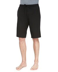 Derek Rose Basel Jersey Lounge Shorts Black
