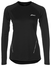 Asics Long Sleeved Top Performance Black