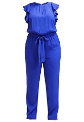 Eloquii Jumpsuit Lapis Blue Royal Blue