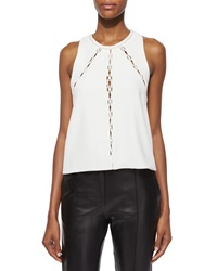 Iro Buddy Sleeveless Cutout Panel Top