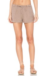 Young Fabulous And Broke Rococo Shorts Brown