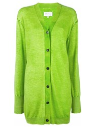 Maison Martin Margiela Long Length Cardigan Green