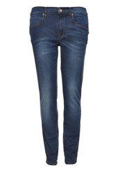 Dr. Denim Dr.Denim Snap Slim Fit Jeans Dunkelblau Blue