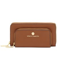 Vince Camuto Drea Phone Wallet Hazelnut Brown