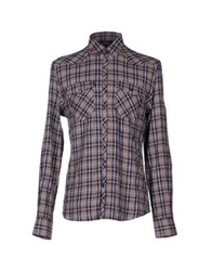 Fabio Di Nicola Shirts Dark Purple