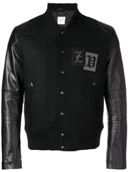 Zadig And Voltaire Leddy Bomber Jacket Black