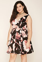 Forever 21 Plus Size Pleated Floral Dress