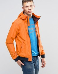 Bench Zip Through Lightweight Jacket In Orange Orange