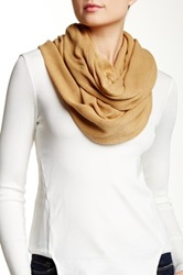 14Th And Union Roll Up Infinity Scarf Brown