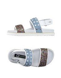 D.A.T.E. Footwear Sandals Women White