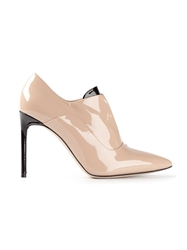 Reed Krakoff High Heel Ankle Boots Nude And Neutrals