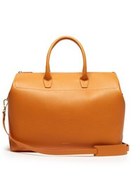 Mansur Gavriel Travel Large Leather Bag Yellow Multi