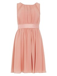 Dorothy Perkins Showcase Satin Tie Prom Dress Pink