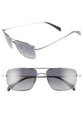 Men's Salt 'Rodgers' 57Mm Polarized Sunglasses Grey Grey