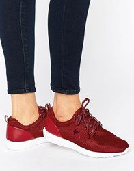 Le Coq Sportif Dynacomf Trainer Wine Red