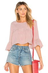 Ale By Alessandra X Revolve Alana Top Red