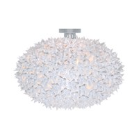 Kartell White Bloom Ceiling Lamp 53X39cm