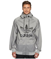 Adidas Greeley Softshell Jacket Core Heather Black Men's Coat Gray