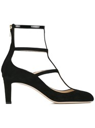 Jimmy Choo 'Dancy 65' Caged Pumps Black