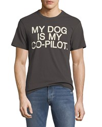Chaser My Dog Is My Co Pilot Tee Black