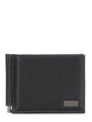 Salvatore Ferragamo Revival Leather Money Clip Wallet