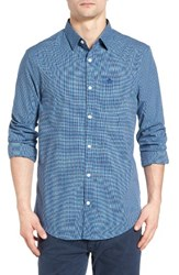 Original Penguin Men's Trim Fit Dobby Plaid Shirt