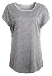 Esprit Sports Print Tshirt Medium Grey Light Grey