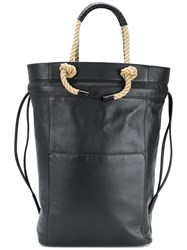 Ports 1961 Rope Handle Tote Bag Blue