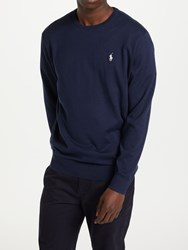 Ralph Lauren Polo Golf By Long Sleeve Crew Neck Sweater French Navy