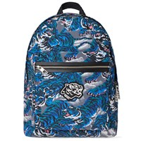 Kenzo All Over Tiger Backpack Blue