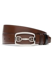 Bally Bridal Buckle Leather Belt