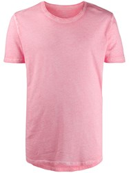 Majestic Filatures Crew Neck T Shirt Pink