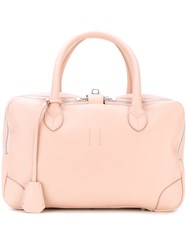 Golden Goose Deluxe Brand Equipage Medium Bag Pink And Purple