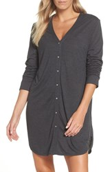 Josie Jersey Sleep Shirt Heather Granite
