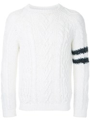 Coohem Mix Fancy Alan Jumper White