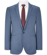 Austin Reed Blue Red Collection Two Ply Jacket