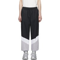 Vetements Black And Grey Mustermann Track Pants