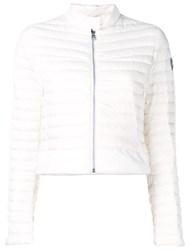 Colmar Fitted Puffer Jacket White