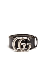 Gucci Gg Marmont Leather Belt Black Multi