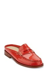 G.H. Bass Women's And Co. Wynn Loafer Mule Poppy Patent