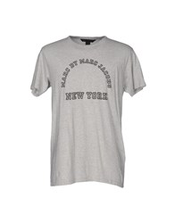 Marc By Marc Jacobs T Shirts Light Grey