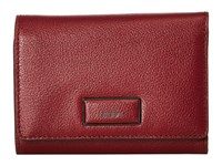 Tumi Belden Trifold Wallet Brick Red Wallet Handbags