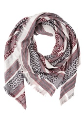 S.Oliver Scarf Purple Pink White