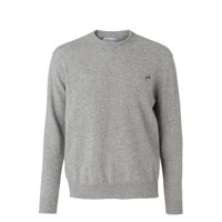 Maison Labiche Geek Jumper Heather Light Grey