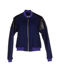 Andrea Crews Jackets Blue